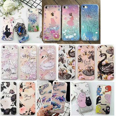 Fits IPHONE 6s 6plus 7 7plus 3D relief Alice In Wonderland art phone case cover