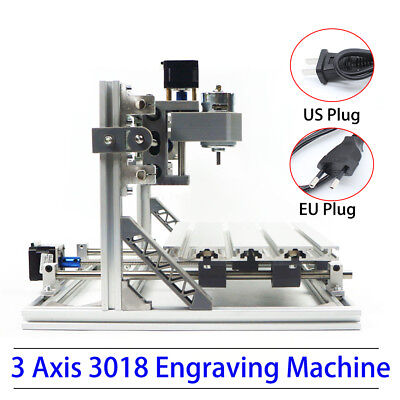 3axis 3018 Mini Cnc Router Engraver Engraving Carving Machine Grbl Control Wood
