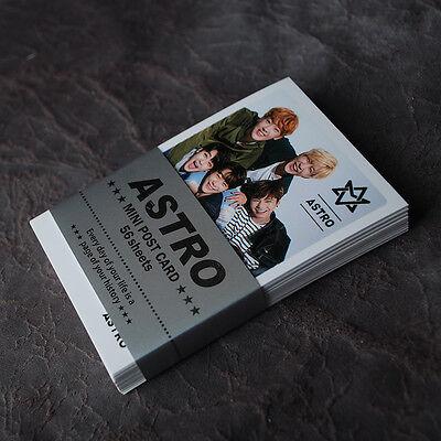 K-POP ASTRO Mini Photo Post Card 56pcs Korea KPOP star