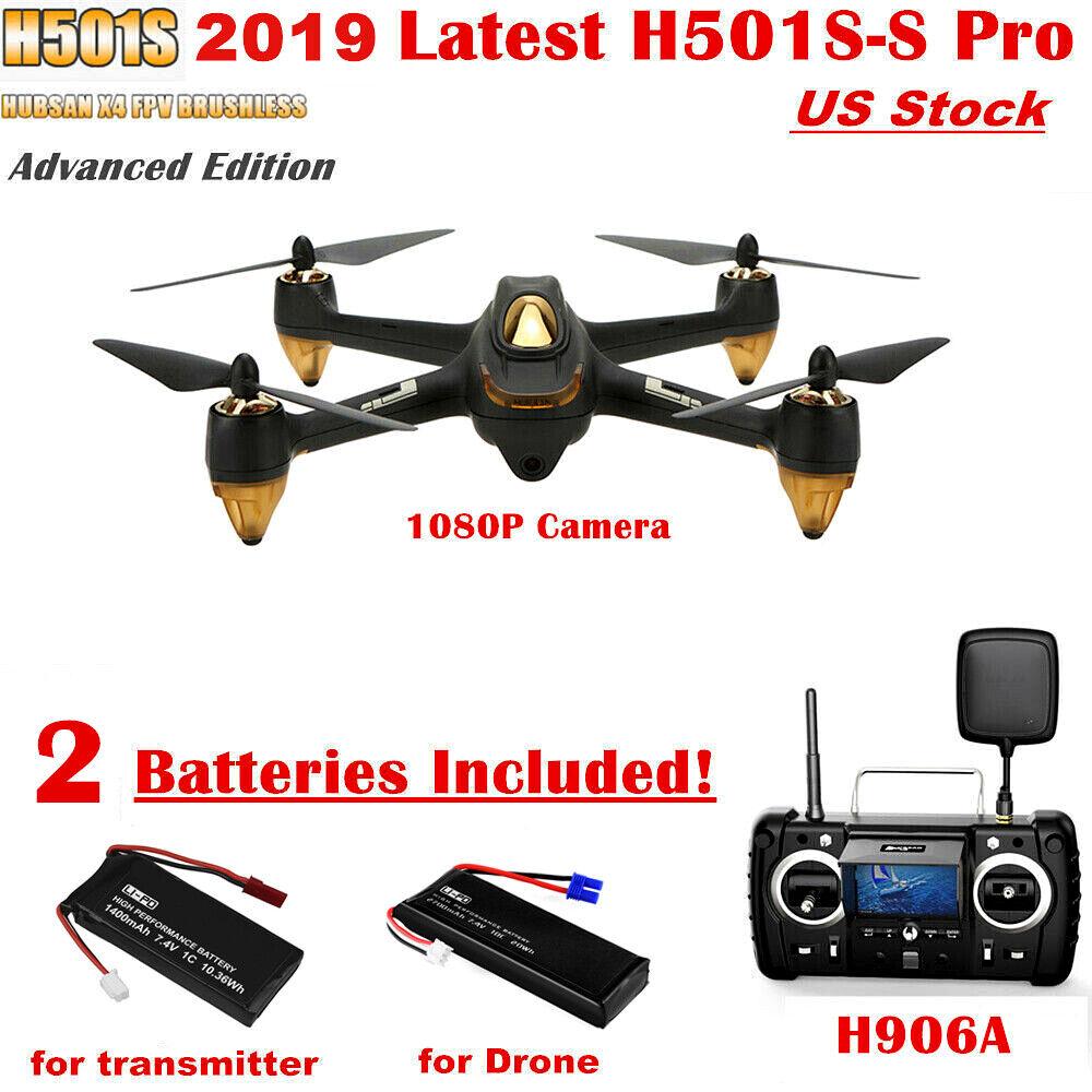 Hubsan H501S Pro X4 FPV Drone 1080P Camera RC Quadcopter 5.8