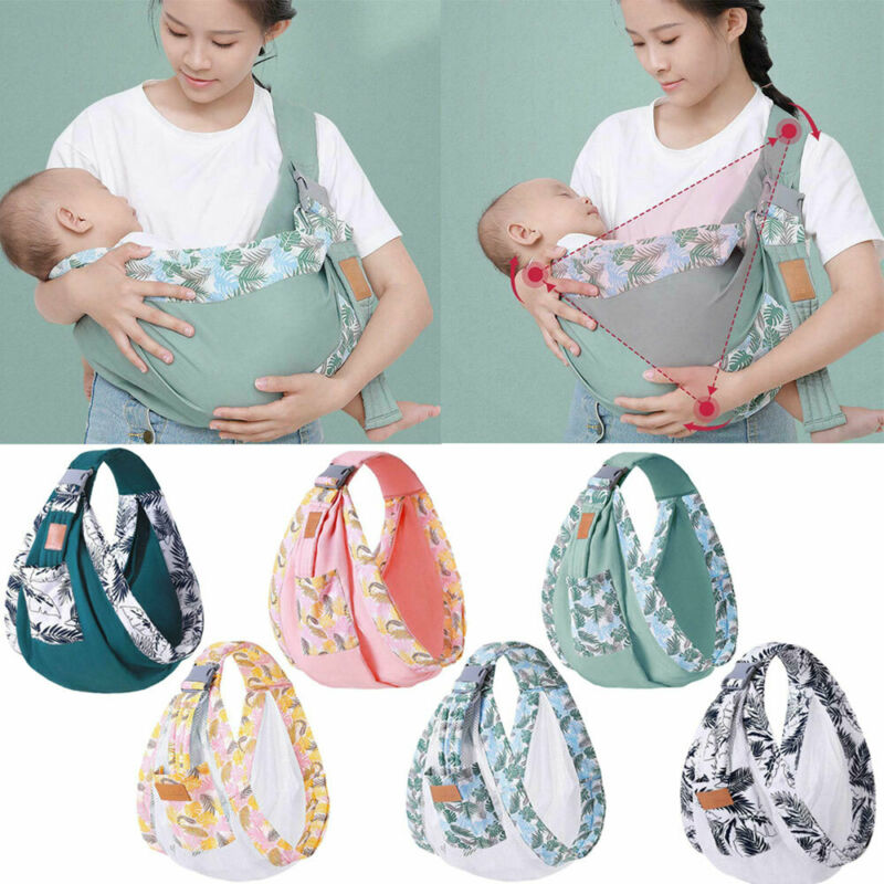 Adjustable Hip Baby Wrap Ring Sling Baby Carrier for Infants and Toddlers Wraps