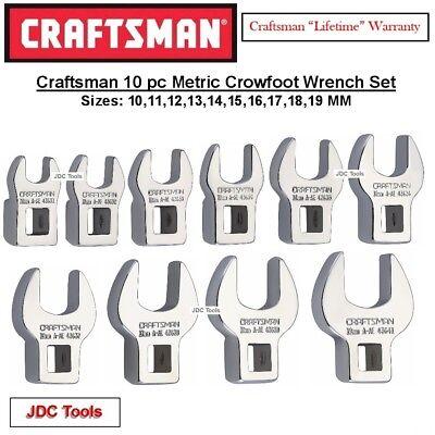 Craftsman 10 pc 3/8