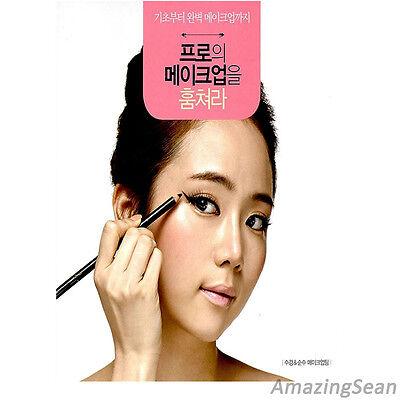 Professional Makeup Book Make-up Techniques Tutorial Korean Book Make up KPOP