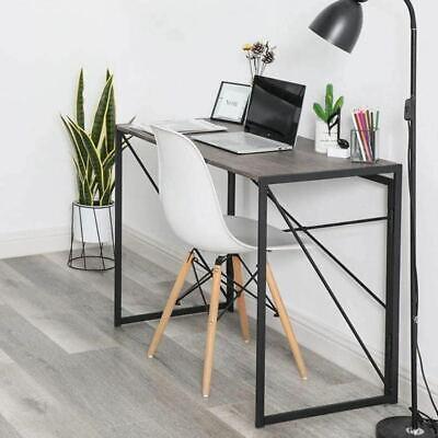 Foldable Computer Desk Corner PC Table Workstation Home Office Folding Desk