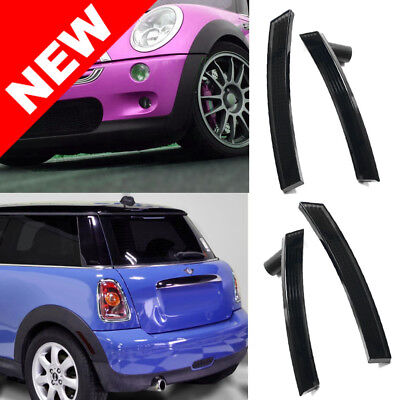02-08 MINI COOPER R50 R52 R53 EURO BUMPER SIDE MARKER LIGHTS - SMOKE