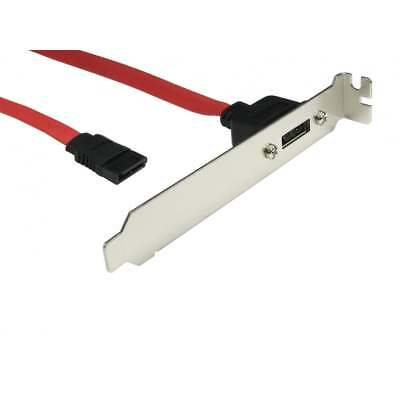 1 Port Serial ATA Single SATA Data PCI Backplate For Hard Drive -