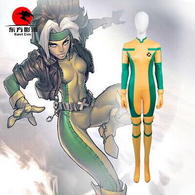DFYM X-Men Costume Rogue Cosplay Jumpsuit Anime Customized Suit Comics Halloween - X Men Rogue Halloween Costume