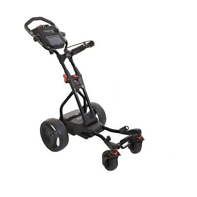 NEW BAGBOY HUNTER QUAD ELECTRIC PUSH GOLF CART. BAG BOY Bag Boy Electric Golf Cart