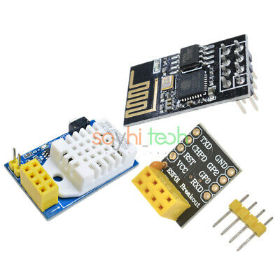 Dht22 Esp-0101s Esp8266 Temperature Humidity Sensor Wifi Transmission Module