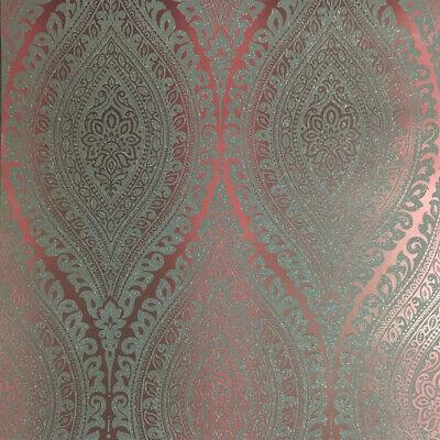 Kismet Plum Ornamente Glitzer A 17705 Pflaume Grau Glitter (Papier Pflaume)