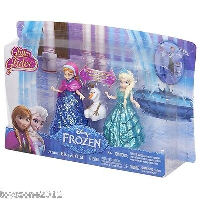 CBM27 Disney Frozen Glitter Glider  Anna,Elsa and Olaf FACTORY SEALED