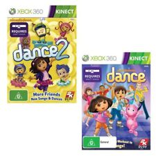 Xbox 360 Nickelodeon Dance & Nickelodeon Dance 2