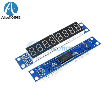 Max7219 Led Dot Matrix 8digit Digital Display 0.56 Anode Tube Module For Arduino