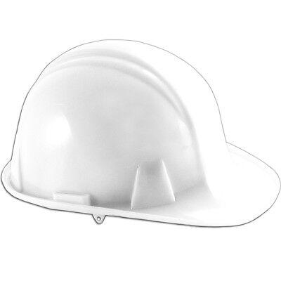 Pyramex Hard Hat - Ratchet Suspension - White
