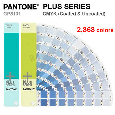 Pantone Plus Series Gp5101 Cmyk Coated Uncoated 2868 Colors