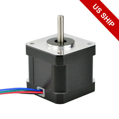 0.9a Us Ship 0.9deg Nema 17 Stepper Motor Bipolar 36ncm50oz.in 4-wires Diy