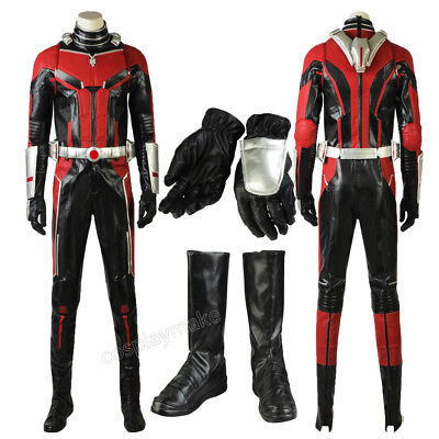Ant-Man and the Wasp Ant-Man Cosplay Costume Scott Lang outfit Superhero - Ant Man Costume