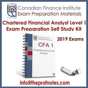 CFA Level 1 Dec 2019 Textbook Summary & Cheat Notes, Q Banks, Exam Questions, Secrets