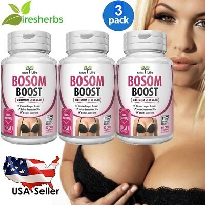 #1 BEST 180 Caps Pills Pueraria Mirifica Breast Growth Bust Enlargement