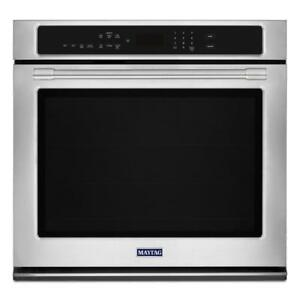 MAYTAG MEW9530FZ 30-INCH WIDE SINGLE WALL OVEN WITH TRUE CONVECTION 5.0 CU. FT
