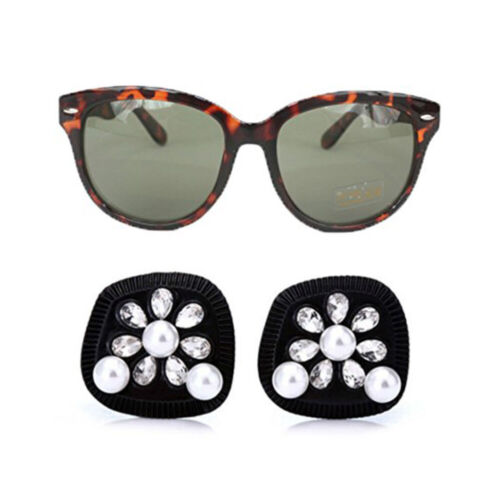 Holly Tortoise Sunglasses & Oversized Earrings