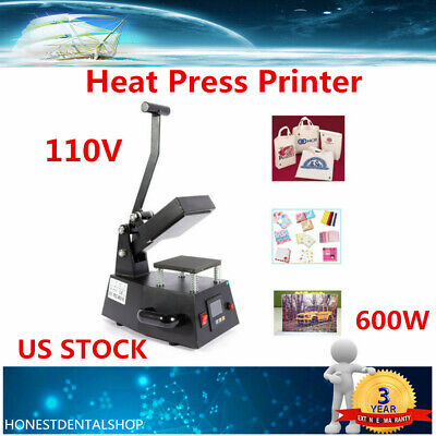 Heat Press Machine Electronic Digital Transfer Printer For Hat Diy Print Pattern