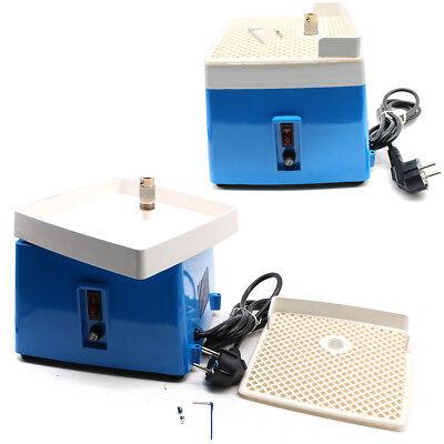 220V Mini Portable Stained Grinder Diamond Glass Art Grinding Tools Blau 65W DE