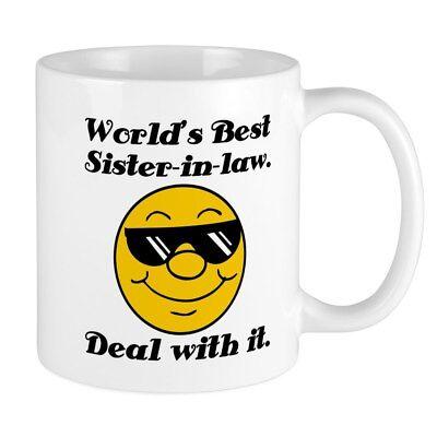 CafePress World's Best Sister In Law Humor Mug 11 oz Ceramic Mug