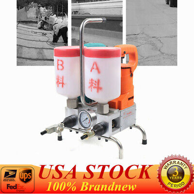 Electric Epoxy Injection Piston Pump Grouting Steel Machine High Efficiency1.5kw