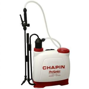 USED Chapin 61500 Euro Style Backpack Poly Sprayer, 4-Gallon Condtion: USED