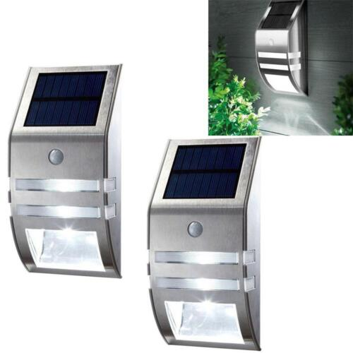 Details About 1 2 4pack Solar Powered Led Wall Light Motion Sensor Security Lamp Outside Ln