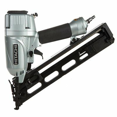 Hitachi 15 gauge angle Finish nailer NT65MA4 nail gun with air duster & warranty