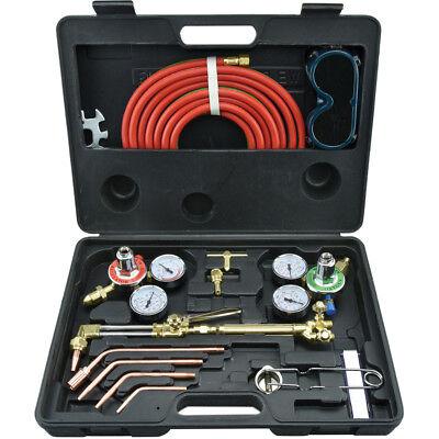 Neiko Gas Welding & Cutting Torch Kit | Victor Type Oxygen Acetylene (Welding Set)