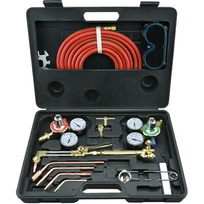 Gas Welding and Cutting Kit | Victor Type Acetylene Oxygen Torch Set Regulator