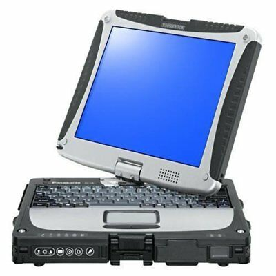 "Panasonic ToughBook CF-19 mk6 10"" i5 8GB Touchscreen Tablet Windows 7 Pro CF19"