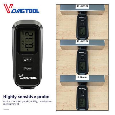 Lcd Digital Car Paint Coating Thickness Probe Tester Gauge Meter Measuring Vc100