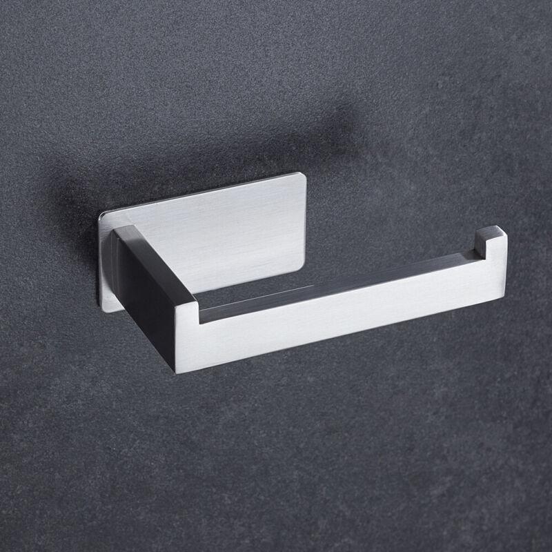 Edelstahl Toilettenpapierhalter Klopapierhalter Klorollenhalter WC Rollenhalter