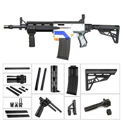 Worker4Nerf M4 & MCX Body Imitation Kit for Nerf Retaliator Foam Blaster