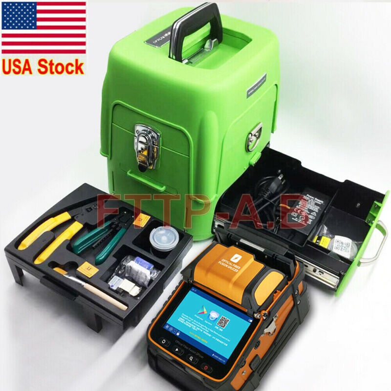 FTTH AI-9 SM&MM Fiber Optic Welding Splicing Machine Fiber Fusion Splicer Kits