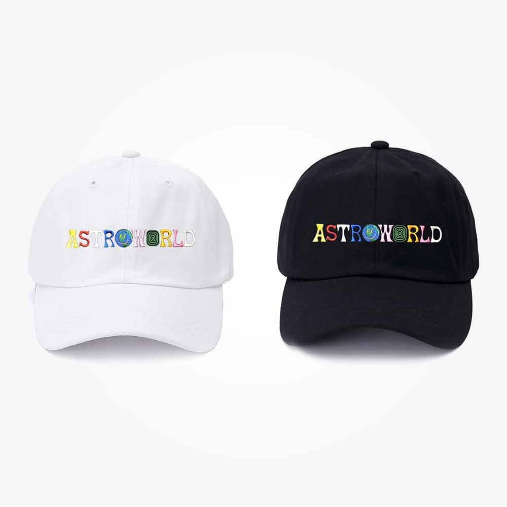 ASTROWORLD Dad Hat Travis Scotts Latest Album Astroworld Cap 100/% Cotton High