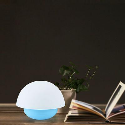 7 Color Tumbler Mushroom LED Kids Room Night Light Touch Sensor Dimmable Lamp