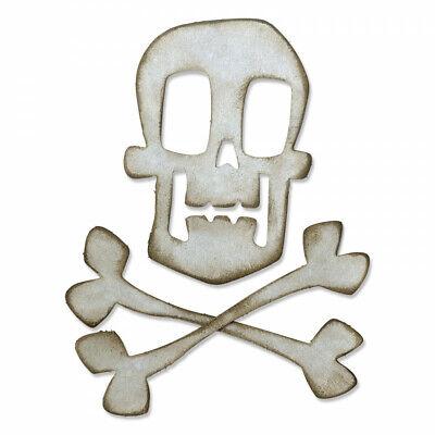 Sizzix Tim Holtz Bigz Die - Skull & Crossbones 664215 (Chapter 3 Release) (Bigz Die)