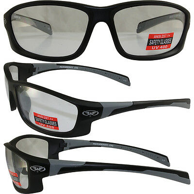 Hercules 5 Safety Glasses Z87.1 CLEAR SHATTERPROOF POLYCARBONATE LENS
