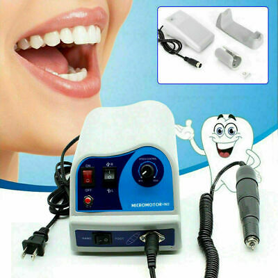 Dental Lab Electric Polisher Marathon Style Micromotor N8 45k Rpm Handpiece Us