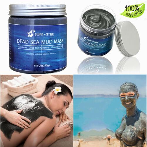 8.8oz Swan Star Dead Sea Mud Mask Anti Acne AntiAging Moisturizing For Face&Body Health & Beauty