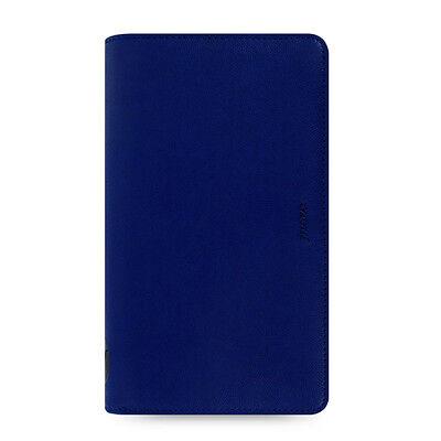 Filofax Compact Zip Pennybridge Organiser Diary Notes Cobalt Blue Leather 028038
