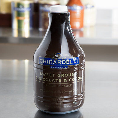 Ghirardelli 87 oz. Sweet Ground Chocolate & Cocoa Flavoring Sauce