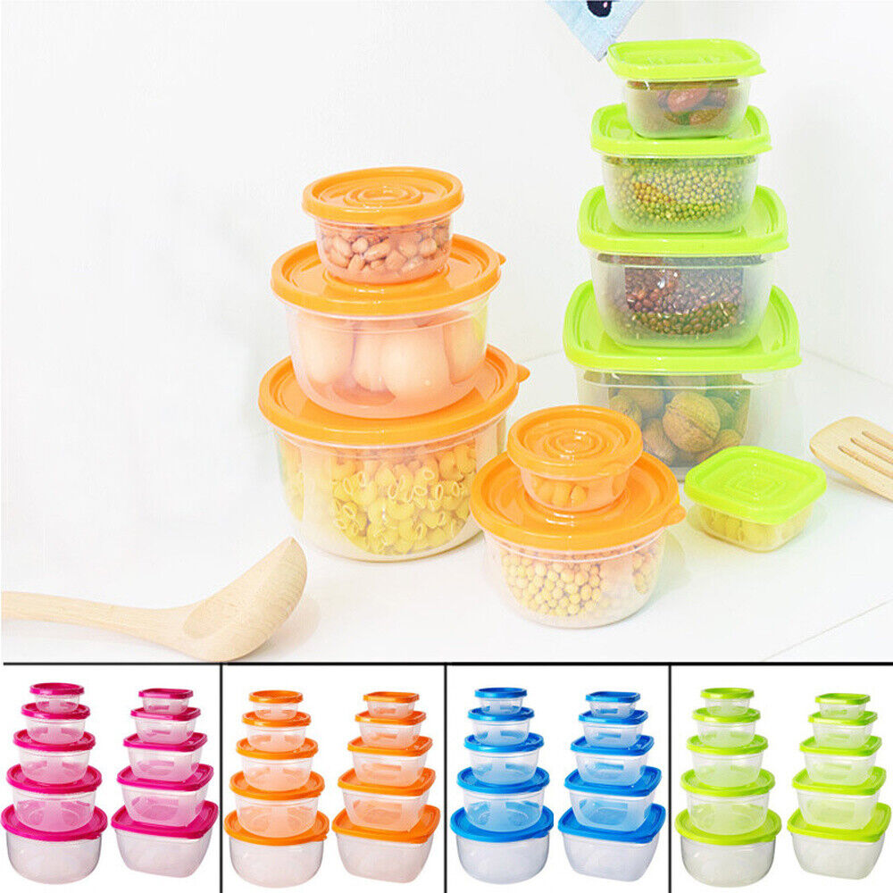 Food Storage Container Meal Prep Containers Set Home Kitchen