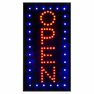 Vertical Led Open Sign With Onoff Ultra Bright Neon Light Led Business Signs