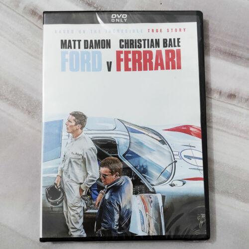 FORD v FERRARI (DVD, 2019) - Brand New - Christian Bale - Matt Damon - Free Ship